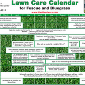 Lawn Care Calendar - Seed - Pellet Stoves - Wood Stoves - Lawn ...